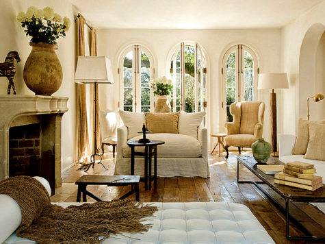 Design French Country Living Room Elegant