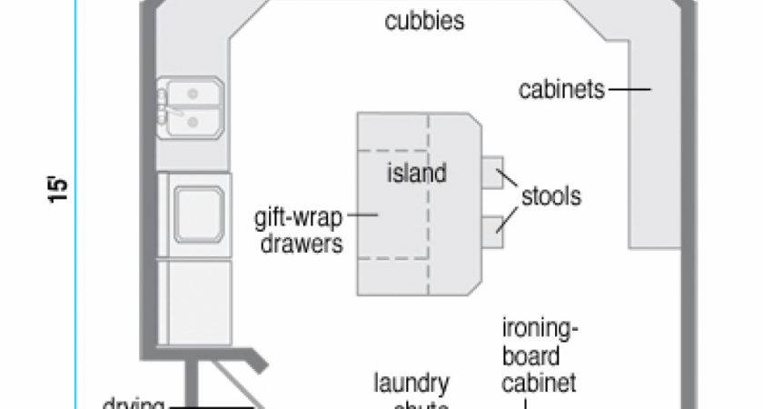 Design Laundry Room Layout Plans