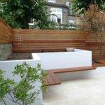 Design Modern Garden Ideas Perfect Slim Courtyard House