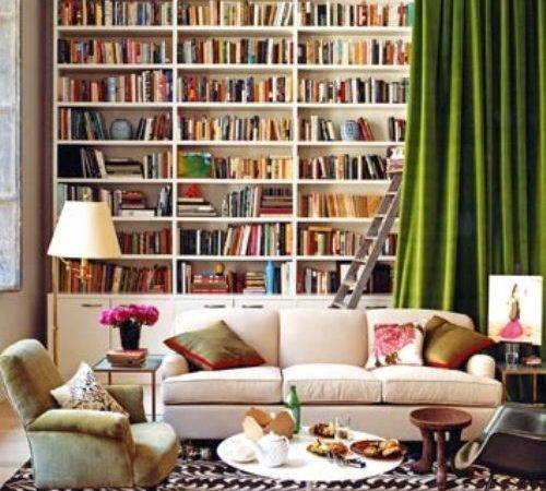 Design Shuffle Guest Post Stylish Bookcases House