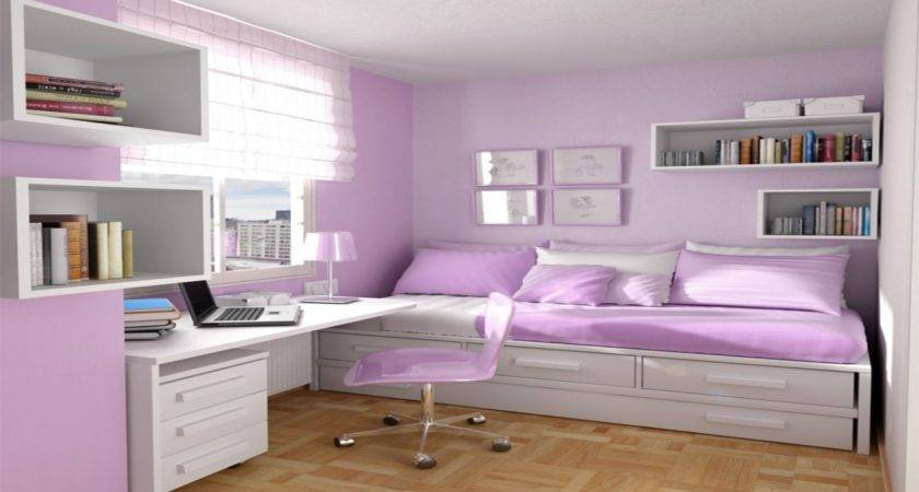 Design Small Bedroom Teenager Desk