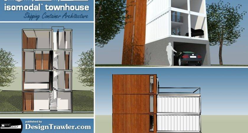 Design Trawler Container Townhouse