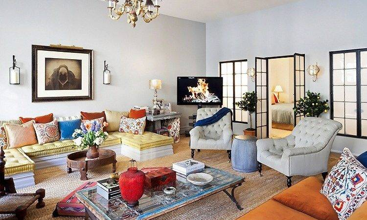 Designer Debora French Eclectic Style New York Apartment