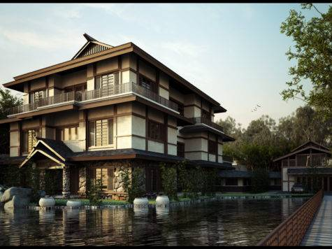 Designing Japanese Style House Home Garden Healthy