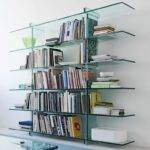 Designs Make Glass Bookcases Fashionable Again