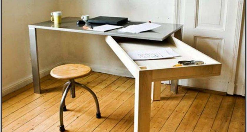 Desk Solutions Small Spaces Home Design Ideas