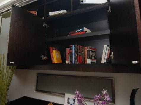Desk System Built Into Closet Outfitters