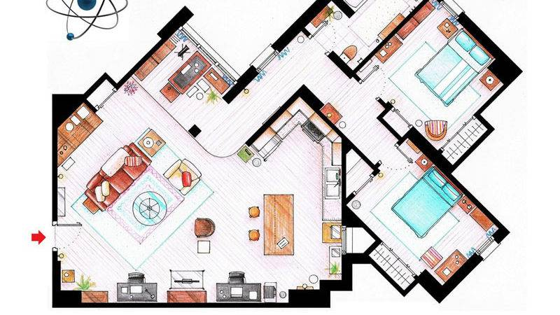 Detailed Floor Plans Show Apartments Twistedsifter