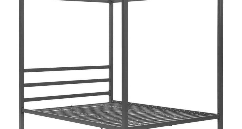 Dhp Modern Canopy Metal Bed Atg Stores