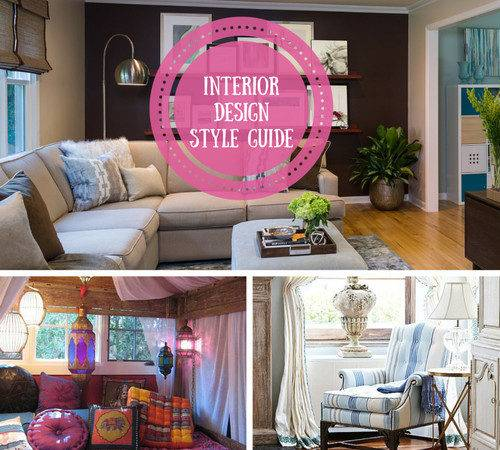 Different Interior Styles Home Design Types