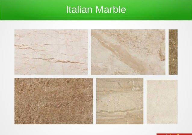 Different Types Marbles
