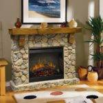 Dimplex Fieldstone Electric Fireplace Fireplaces