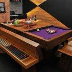 Dining Table Converts Pool