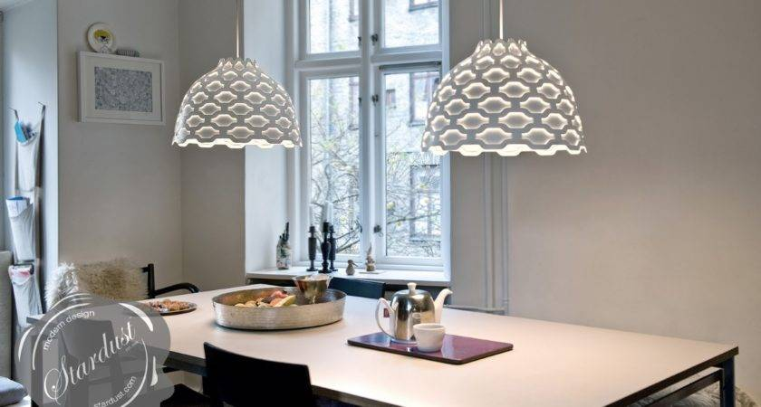 Dining Table Modern Lamps