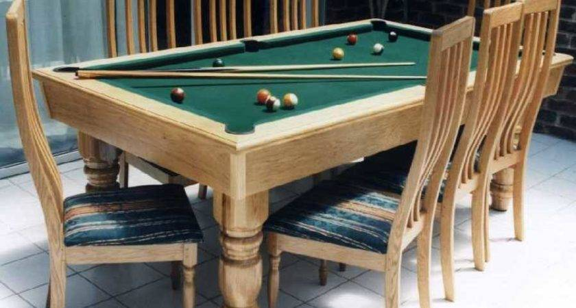Dining Table Pool Combo