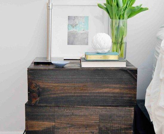 Diy Bedroom Nightstand Ideas Ultimate Home