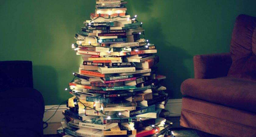 Diy Book Christmas Tree Pinterest