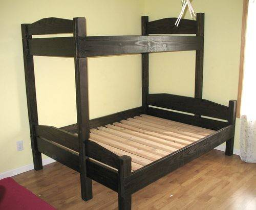 Diy Bunk Bed Plans Blueprints