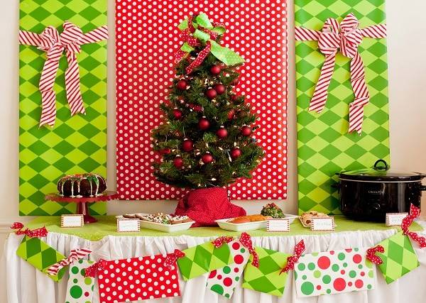 Diy Christmas Party Decoration Ideas Pink Lover