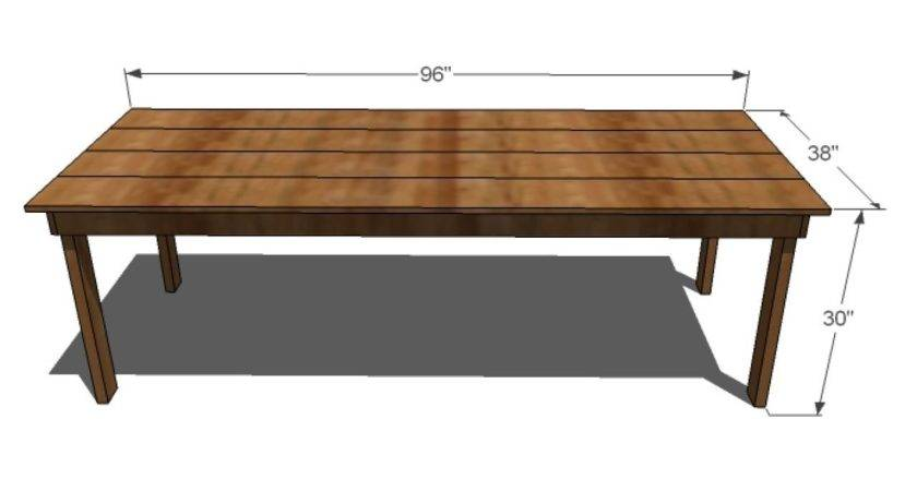 Diy Dining Room Table Plans Bombadeagua