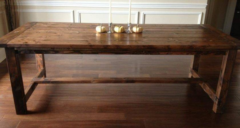 Diy Dining Room Table Plans Large Beautiful Photos