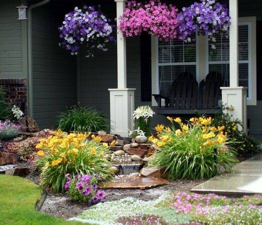 Diy Front Yard Makeover Traditional Landscape Boise