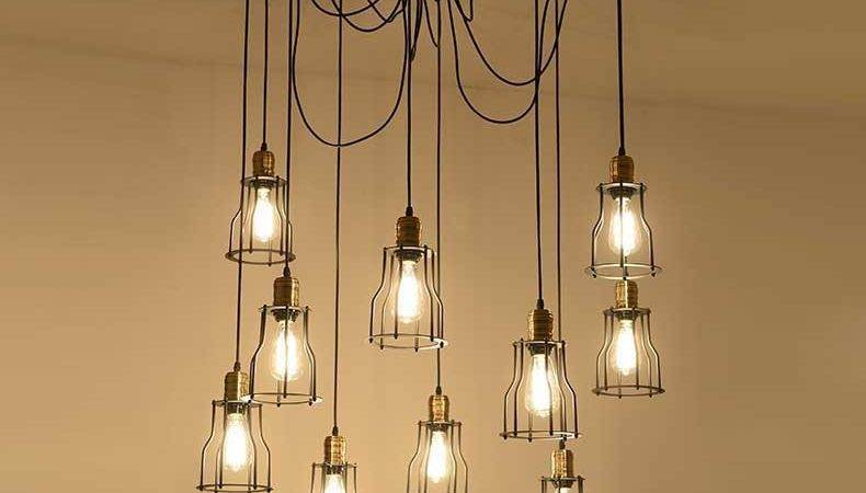 Diy Handmade Tiny Cages Vintage Fixtures Lamp