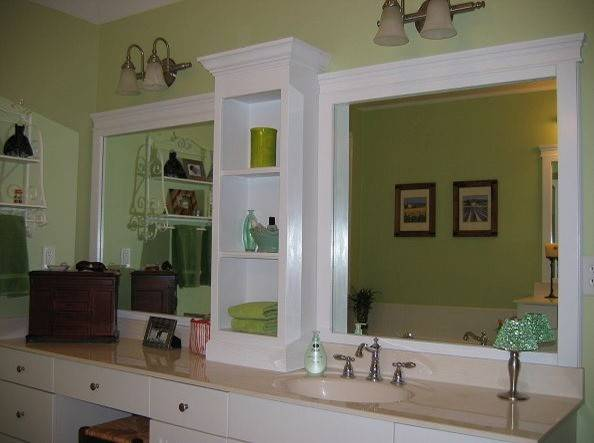 Diy Ideas Frame Basic Bathroom Mirror