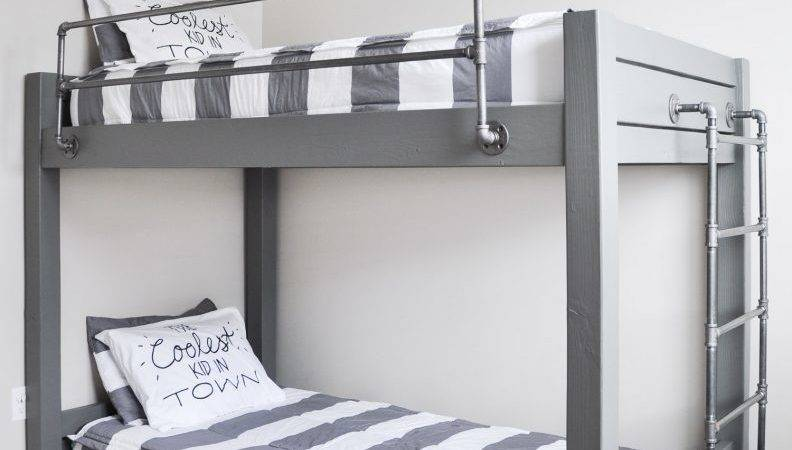 Diy Industrial Bunk Bed Plans Cherished Bliss