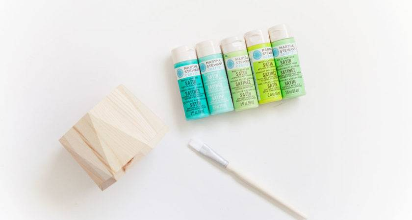 Diy Painted Wood Container Tell Love Party