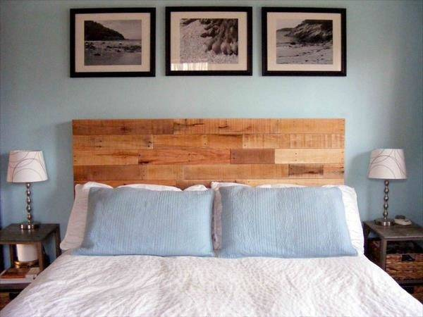 Diy Recycled Pallet Headboard Pallets Designs