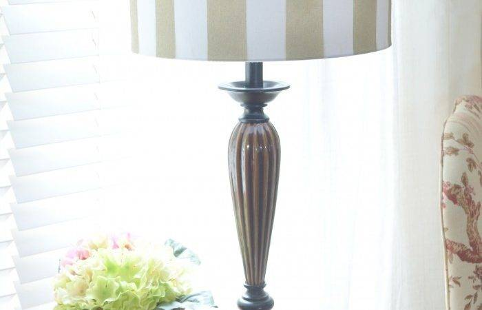 Diy Spray Painted Lamp Shade Home Barkers