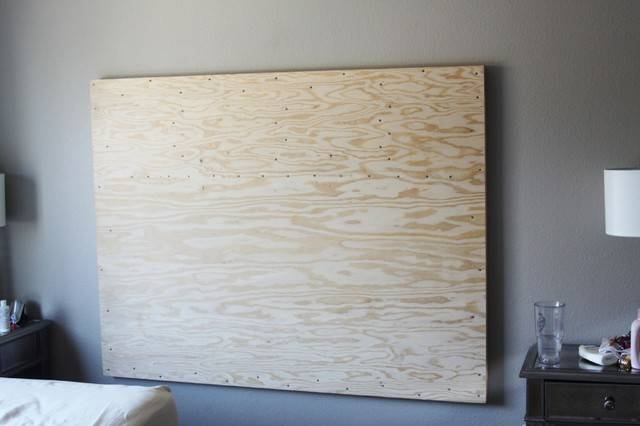 Diy Upholstered Headboard Wall Mounted Modern San