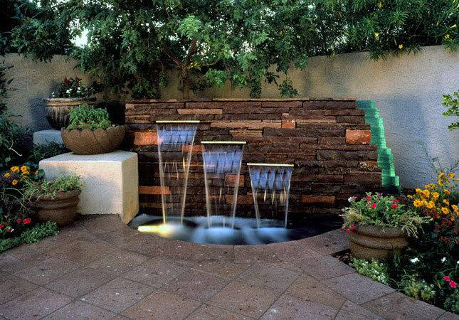 Diy Water Feature Ideas Small Gardens Home Dignity