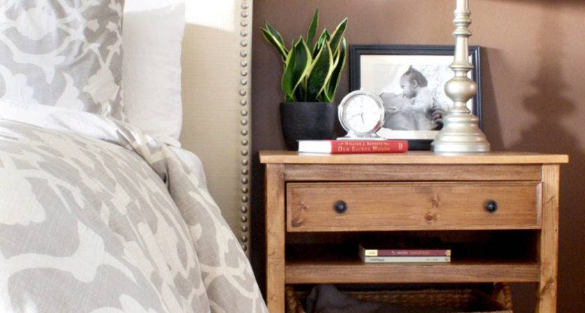 Diy Wooden Bedside Table Quick Woodworking Projects