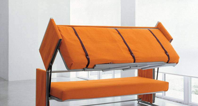 Doc Sofa Bed Converts Bunk Two Secounds