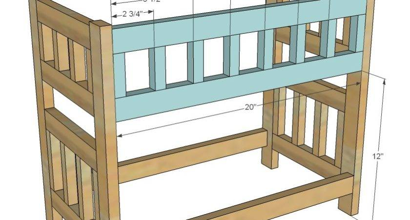 Doll Bunk Bed Woodworking Plans Woodshop
