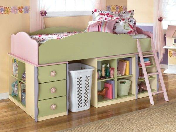 Doll House Design Your Own Loft Bed Bottom