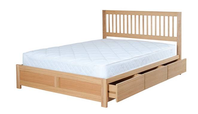 Double Cameron Wooden Storage Bed Off