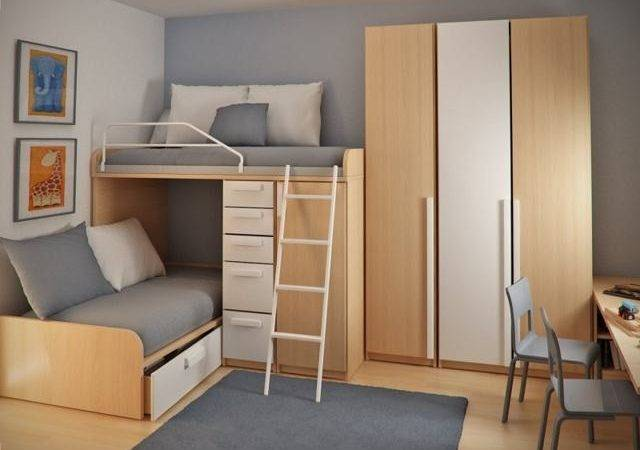 Double Loft Beds Small Rooms Reference