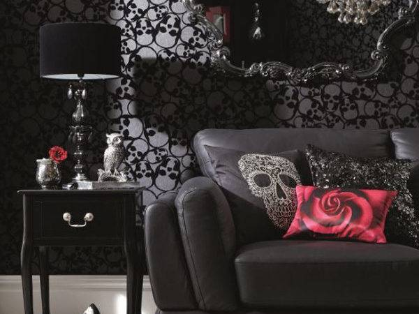 Dramatic Gothic Room Design Style Suggestions