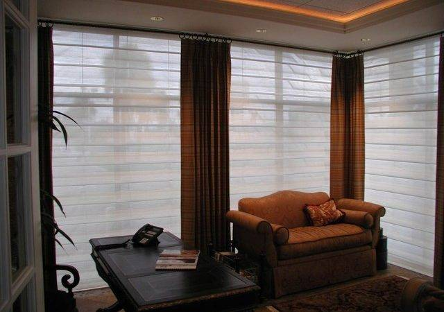 Drapery Contemporary Window Treatments Orange County
