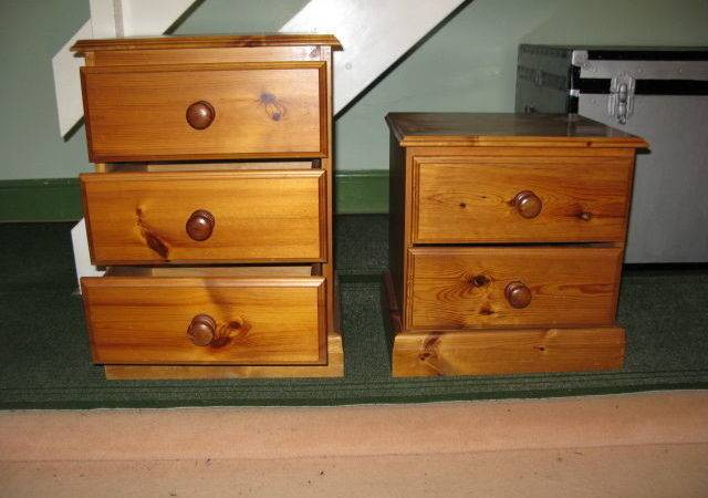 Drawer Bedroom Units Solid Pine