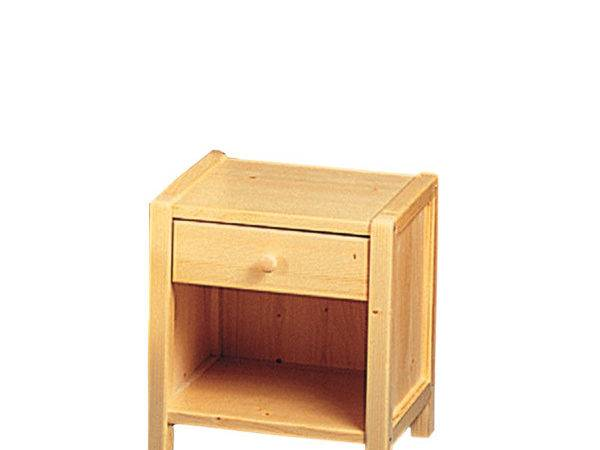 Drawer Kids Night Table Sylvia Solid Wood Stand