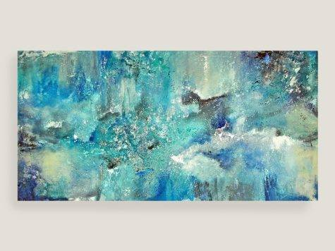 Dreamin Blue Canvas Wall Art World Market