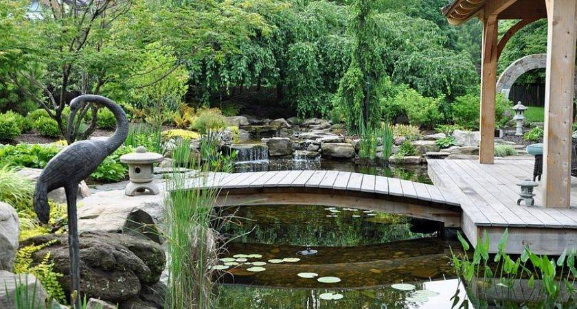 Dreamy Delightful Garden Bridge Ideas