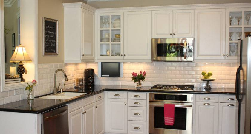 Dress Your Kitchen Style Some White Subway Tiles