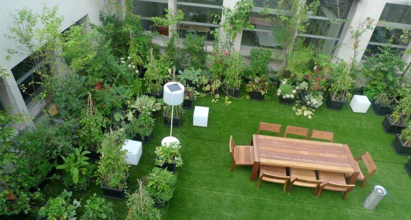 Easy Install Rooftop Gardens Terrace India