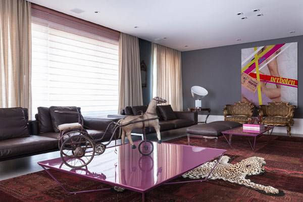 Eclectic Apartment Brazil Smashome