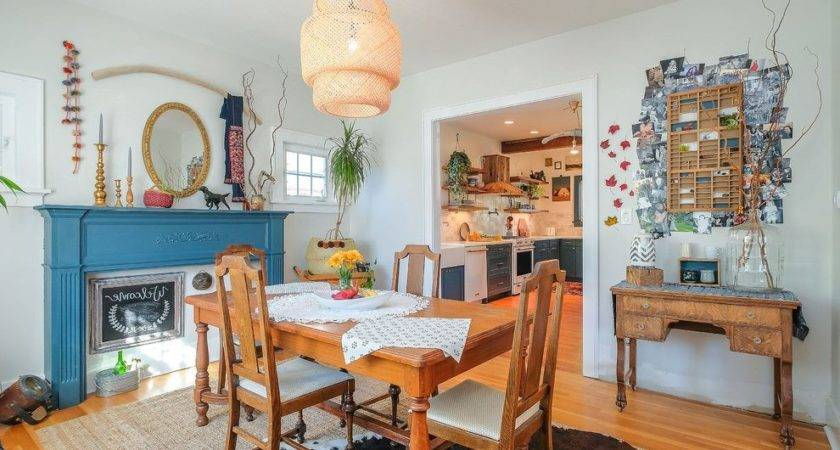 Eclectic Dining Room Sets Area Rustic Style